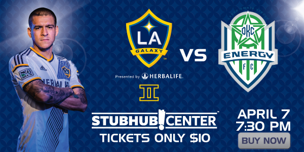 La Galaxy Ii Vs Okc Energy Fc Stubhub Center